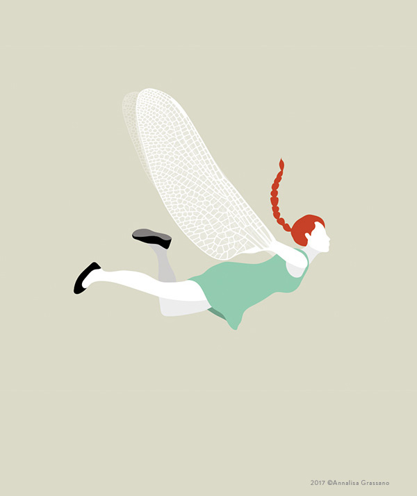Ready to fly - Illustration ©Annalisa Grassano, 2017
